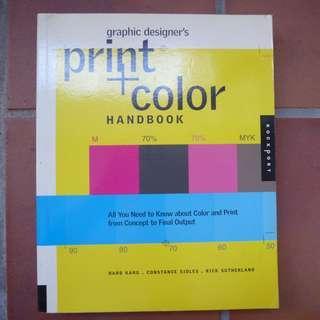 Graphic Designer's Print + Color Handbook (Large Paperback)
