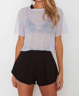 WHITE FOX BOUTIQUE Lola Shorts Black