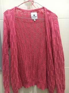 Colorbox Pink Cardigan