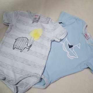 BRAND NEW Sprout Onesies 6-12m