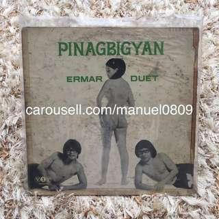 Rare Pinagbigyan by Ermar Duet Vinyl