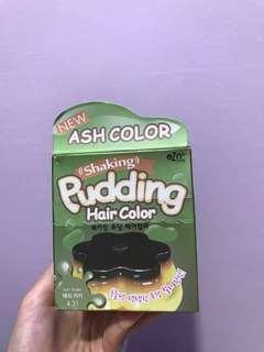 Korea eZn Shaking Pudding Hair Color(Ash khaki) #BEAUTY50