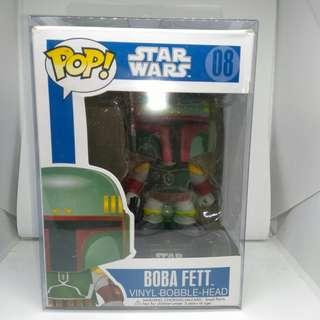 Funko Pop Boba Fett Star Wars figure (with case)