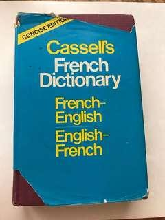 Casell's French Dictionary (French-English & English-French) - Concise Edition