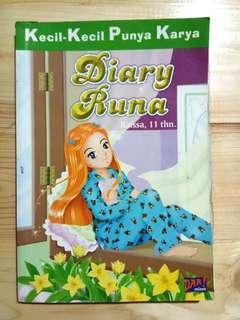 """KKPK """"Diary Runa"""" preloved"""