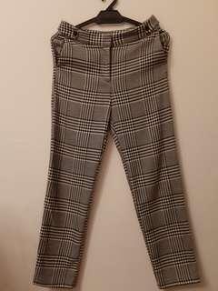 TOPSHOP CHECKERED PANTS
