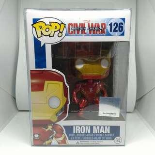 Iron Man Avengers Marvel Comics Funko Pop toy figure