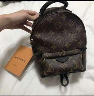 Louis Vuitton Palm Springs monogram mini backpack