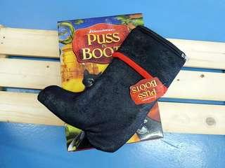 NEW & RARE Puss In Boots Hot Water Bottle Limited Edition Movie Collectible Item
