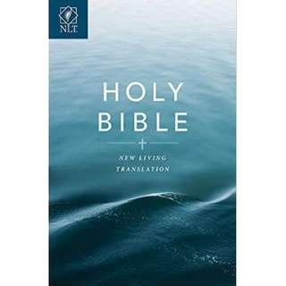 NLT Softcover Blue Bible
