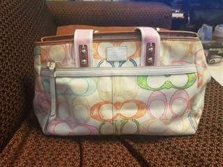 Authentic Coach Multicolor bag