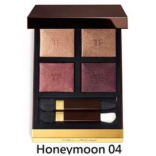 Tom Ford 四色眼影 #honeymoon