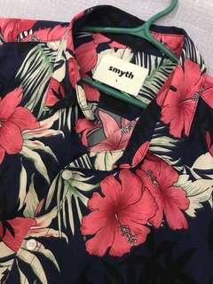 Smyth Floral Button Down