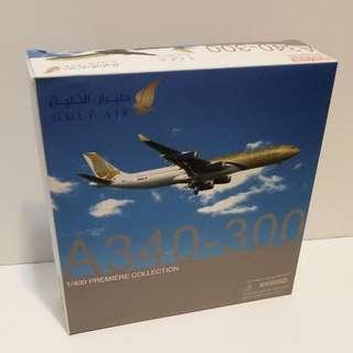 1/400 Dragon Wings Gulf Air A340-300 Airlines