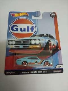 Hotwheels Nissan Laurel 2000 SGX (Gulf)