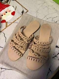 H sandals