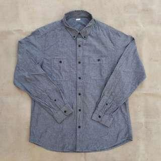 GU WORKSHIRT GREY