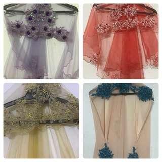 Tunang / nikah boutique veil
