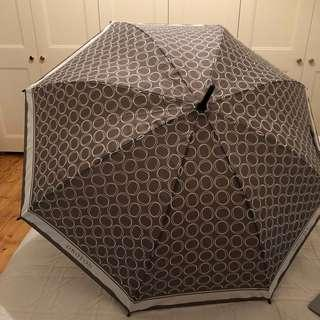 "Oroton large ""O"" umbrella"