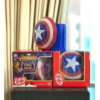 3 x Captain America Avenger Cup