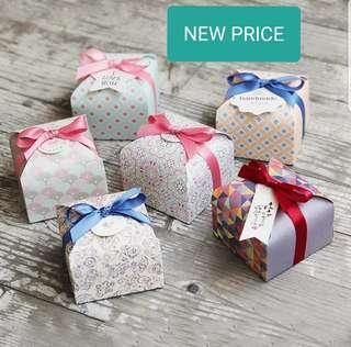 Favor box NEW PRICE!