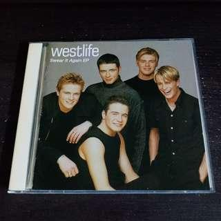 WESTLIFE Swear It Again EP CD Single with Postcard