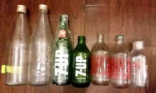 70年代汽水及菓汁樽