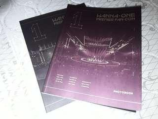Wanna One Official Premier Fancon Photobook