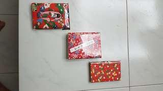 3 Japanese Notebook/Address Books