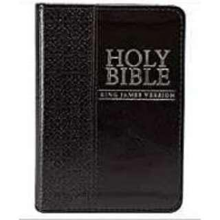 KJV Mini Pocket Black Bible