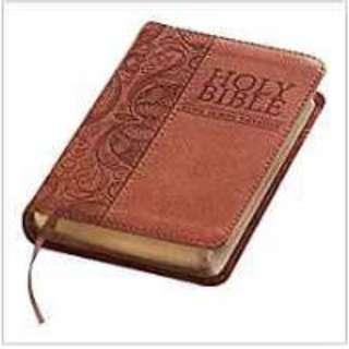 KJV Mini Pocket Brown Bible