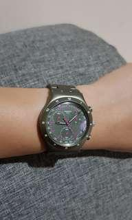 Swatch Original CH-2504 Biel Alumunium Green