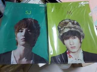 🚚 Brand new Super Junior file folder - Leeteuk Eunhyuk