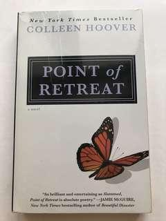Point of Retreat by Colleen Hoover paperback