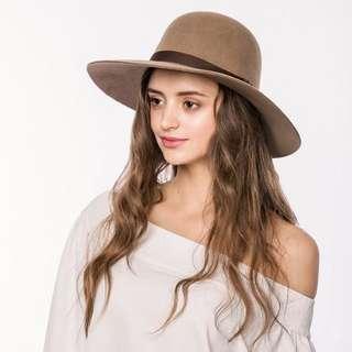🚚 巴拿馬Ecua-Andino羊毛毛呢紳士帽M號