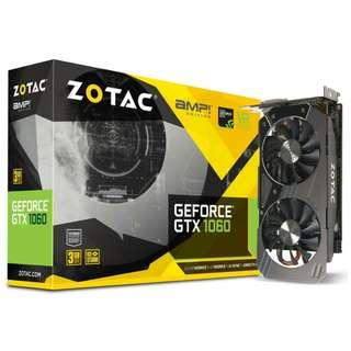 Zotac GTX 1060 3GB AMP! Edition 3GD5