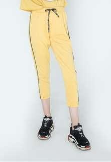 Colorbox Jogger Sweatpants Yellow Line #bersihbersih