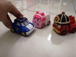 Robocar poli transforming toys (3for RM20)