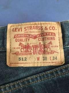 Plus size Levis 512