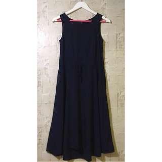 Uniqlo Navy Maxi Dress