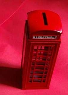 英國鐵皮錢箱 電話