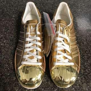 Adidas original superstar 80s metal toe GOLD