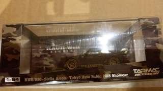 tarmac tokyo auto salon black rwb