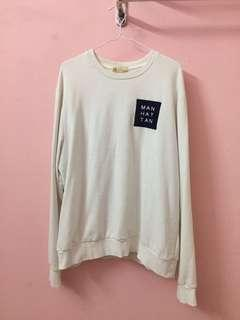 Padini Sweatshirt PDI in White