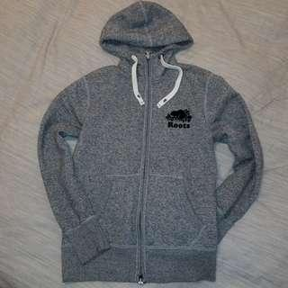 Mens Roots Zip Up Hoodie