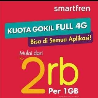 kouta internet smartren 4g
