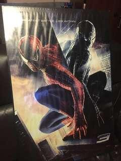 Spiderman Wall Poster with Frame (Large)