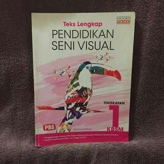 BN - Teks Lengkap Pendidikan Seni Visual (Tingkatan 1)