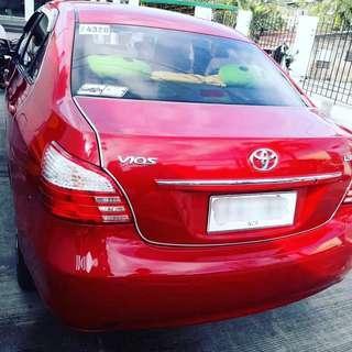Toyota Vios Red 1.3 E M/T