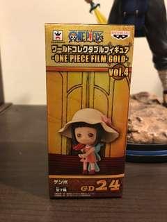 代理版 海賊王 航海王 wcf Gold 黃金城 利卡 迪波 兄妹 GD24 公仔 模型 玩具